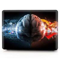Компьютерная оболочка для ноутбука Чехол для клавиатуры для MacBook Air 13,3-дюймовый -3D Glare Left and Right Brain Чёрный