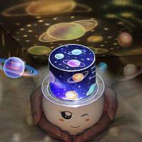 Романтический Галактика Звездное декоративные светодиодные проекции света Разноцветный