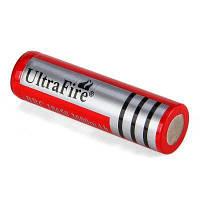 UltraFire 18650 3.7V реальная емкость 3000mAh перезаряжаемый литий-ионный Красный