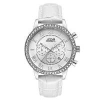 JEDIR 6002 4802 Досуг Мода Кожаный ремешок Кварцевый механизм Женские часы с коробкой Белый