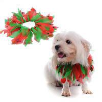 Рождественский звон колоколов Декоративный воротник собаки S