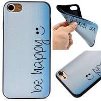 Счастливый мягкий чехол из кремния TPU для iPhone 7/8 Разноцветный
