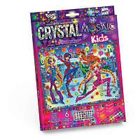 Мозаика стразами (алмазами) Девочки, детская серия (CRMk-01-02), фото 1