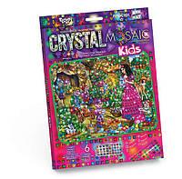 Мозаика стразами (алмазами) Белоснежка, детская серия (CRMk-01-07)