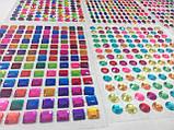 Мозаика стразами (алмазами) Торт, детская серия (CRMk-01-08), фото 7