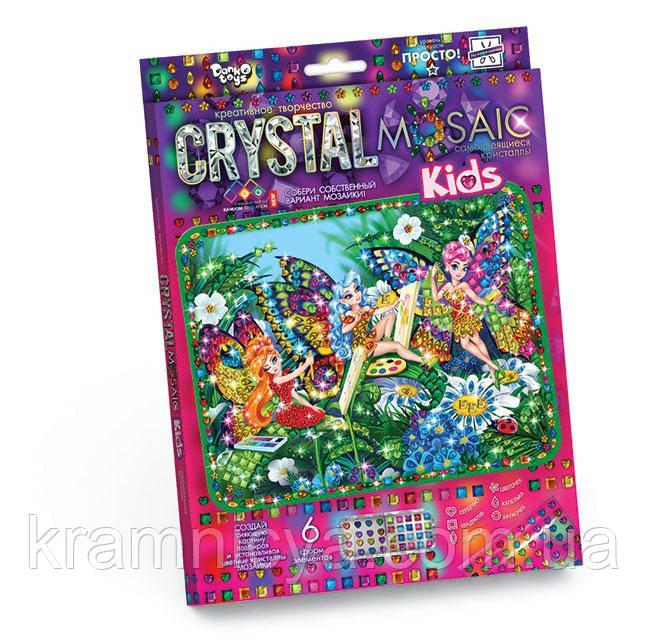 Мозаика стразами (алмазами) Феи-бабочки, детская серия (CRMk-01-09)