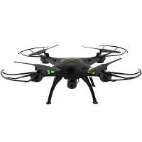 X53 RC Drone RTF с 0,3-мегапиксельной камерой HD / одним нажатием клавиши для автоматического возврата / высоты Чёрный