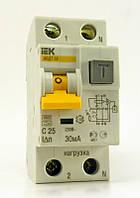 Автоматический выключатель дифференциального тока IEK АВДТ 32 С25 2р