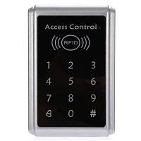 T5 Контроль доступа с сенсорной панелью по паролю и ID карте с идентификационными картами 5 шт. серебристый и черный
