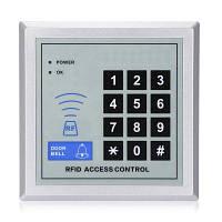 A2 Контроль доступа по паролю и ID карте с картами 5 шт. Серебристый