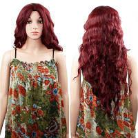 Женщины длинный волнистый курчавый парик для косплея, вечеринка 28дюймов