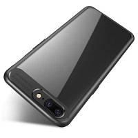 HD Clear Acrylic PC Back Soft TPU Edge 2 в 1 Полная защитная оболочка Retail для OnePlus 5 Case Чёрный
