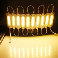 KWB KWB 20PCS LEDs COB водонепроницаемый модуль рекламная лампа знак назад огни водонепроницаемые модули Тёпло-белый свет