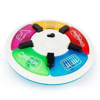 Многофункциональная музыкальная пластинка для детей-игрушек Белый