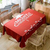 Веселая рождественская елка Печать Водонепроницаемая ткань ширина54дюйма*длина54дюйма