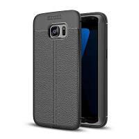 Корпус для Samsung Galaxy S7 Edge Shockproof Back Cover Solid Color Мягкий TPU