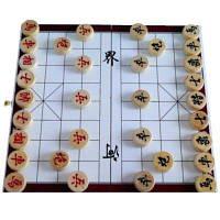 Китайские Шахматы Деревянные Расстроен Развивать Мозг Размер: 26 x 25 x 1.3cм
