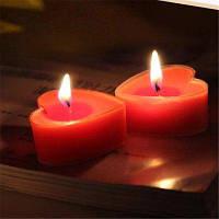 9PCS Ароматические свечи с сердечными ароматными свечами