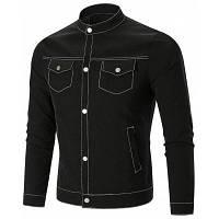 Однобортная Куртка С Накладными Карманами XL