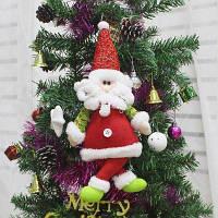 Формы Санта-Клауса Кукла Рождественская Елка Повесить Украшения Красный