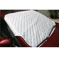 Автомобиль Серебряная сторона Толстая ветровое стекло Зонт Переднее солнцезащитное лобовое стекло