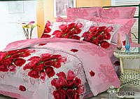 Полуторное постельное белье полиСАТИН 3D (поликоттон) 851842
