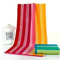 Полотенце из бамбукового волокна с утолщением Красный