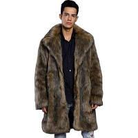 Шерстяное пальто с длинным рукавом XL