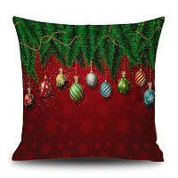 Рождественская брусчатка сосновая лента 45*45 CM