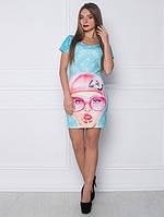 Платье Девушка с чупа-чупсом Код:14521