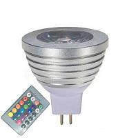OMTO MR16 3W RGB цвет изменение прожектора с ИК-пульта дистанционного управления атмосфера освещения освещение 16 цвет диммируемый 12V RGB