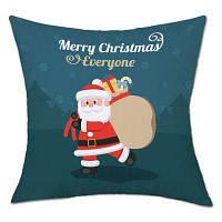 Рождественская подарочная сумка для Рождества Печать Подушка для льна W18 u0434u044eu0439u043cu043eu0432 * L18 u0434u044eu0439u043cu0
