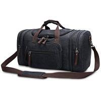 Kabden сумка для путешествий из брезентовой ткани 35Л Чёрный