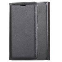 Держатель для карточки Flip Full Body Solid Color Hard PU Кожаный чехол для iPhone X Чёрный