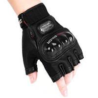PROBIKER PRO-04H Кожаные перчатки с половиной пальцев 1 пара M