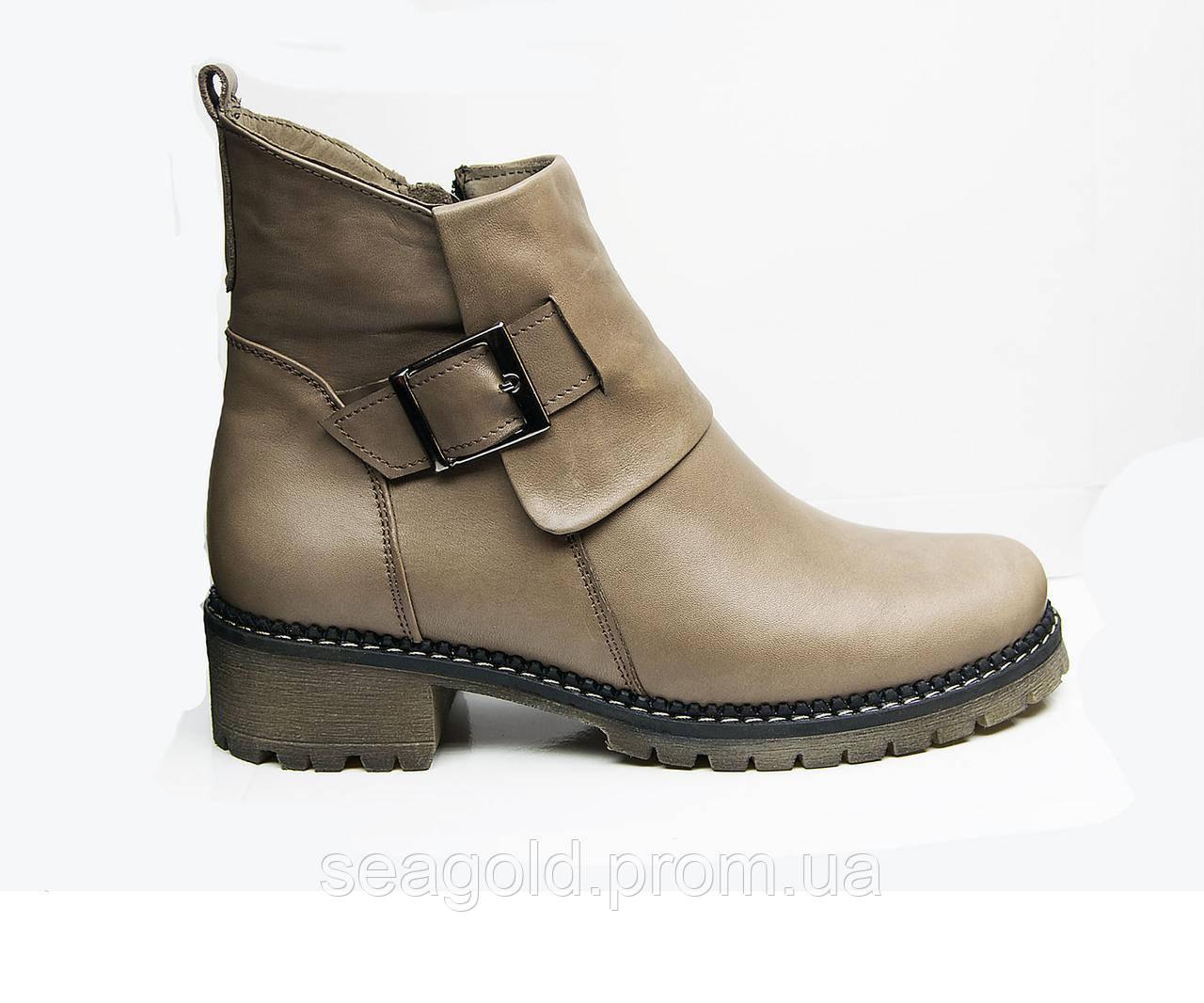 0f8d78fe138f Женские модные кожаные ботинки мод.