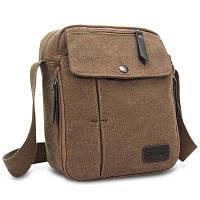 EVEVEME многофункциональная слинг сумка из брезентовой ткани Кофейный