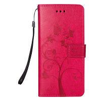 Муравьи на дереве Кожаный глянцевый корпус для Samsung Galaxy S8 Plus розово-красный