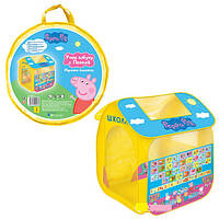 Палатка детская игровая Учим азбуку с Пеппой Peppa Pig 30010, фото 1