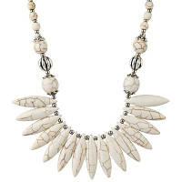 Богемский Натуральный Камень Ожерелье Из Бисера RAL1001 Бежевый
