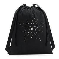 EVEVEME 00132 водонепроницаемый рюкзак на веревках Чёрный