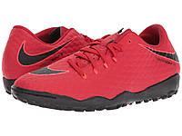 Кроссовки/Кеды (Оригинал) Nike Hypervenom Phelon III TF University Red/Black/Bright Crimson