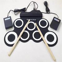 Iword G3002 Portable Roll Up Силиконовый цифровой барабан с педалью Drum Stick поддерживает выход MIDI MIDI 44cм X 28cм X 6cм