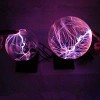 Новинка Плазменный бал Ночное освещение Электронный волшебный настольный светильник Электростатический рождественский декор для дома Подарки на день