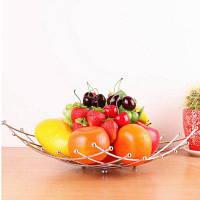 Корзина для фруктов Корзина из нержавеющей стали Серебристый