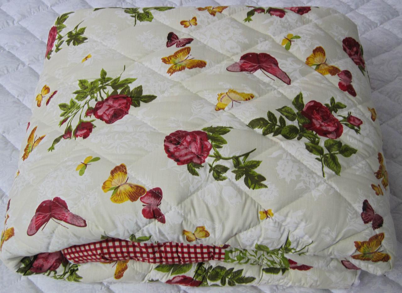 Теплое одеяло силиконовое двуспальное 180*210 (хлопок)
