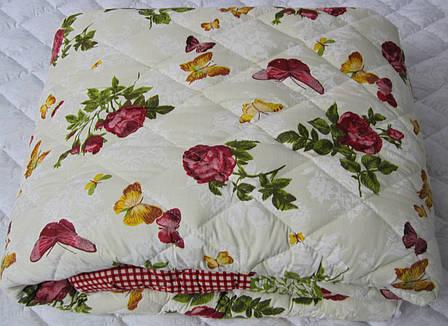 Теплое одеяло силиконовое двуспальное 180*210 (хлопок), фото 2