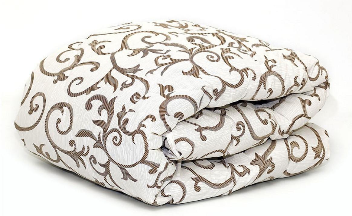Теплое одеяло шерстяное полуторное 150*210 (ткань хлопок)