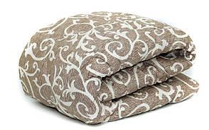 Теплое одеяло шерстяное полуторное 150*210 (ткань хлопок), фото 2