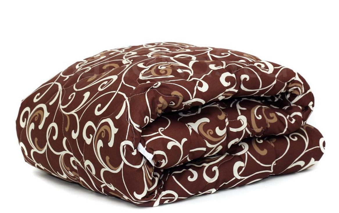 Теплое одеяло шерстяное двуспальное Евро 200*210 (ткань бязь)